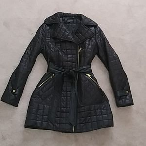 Via Spiga Quilted Trench Coat Size M